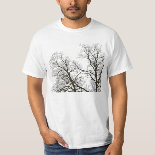 Tree Branches in Silhouette Nature-lover's T-Shirt