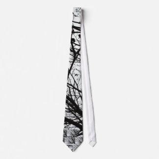 Tree Branches Neck Tie