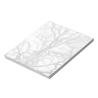 Tree branches notepad