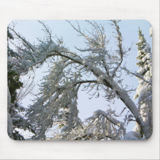 Tree Branches Slant Mouse Pad