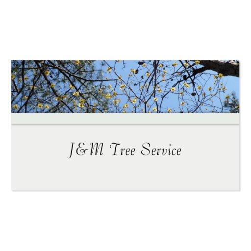 Tree Business Card (back side)