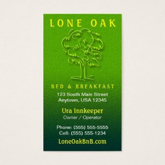 Tree Business Cards