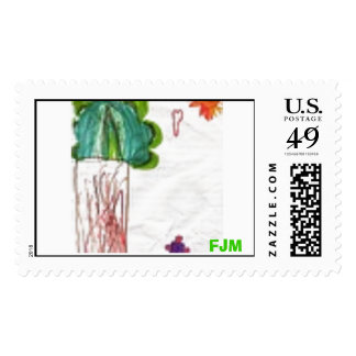 Tree by FJM Postage Stamps