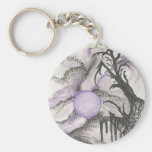 Tree By Moonlight Key Chain