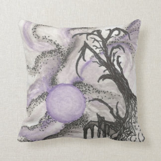 Tree By Moonlight Pillow