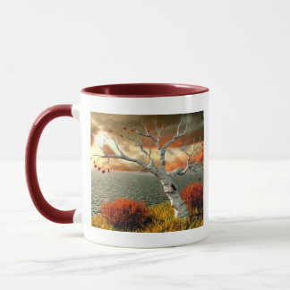 Tree by the Ocean Mug