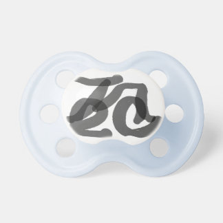 Tree Calligraphy Pacifier
