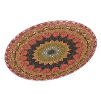 Tree Canopy Mandala Plate
