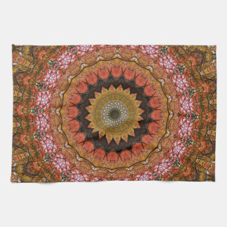 Tree Canopy Mandala Towel Set