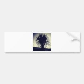 Tree Car Bumper Sticker