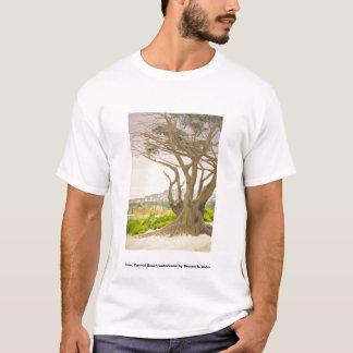 Tree Carmel Beach, Tree, Carmel Beach watercolo... T-Shirt