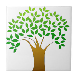 Tree Cartoon Tile
