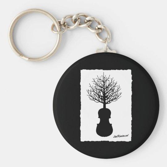 Tree Chain Keychain
