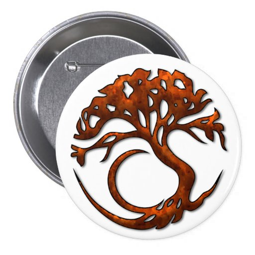 Tree Circle 1 Button