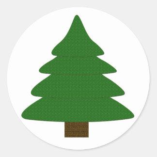 Tree Classic Round Sticker