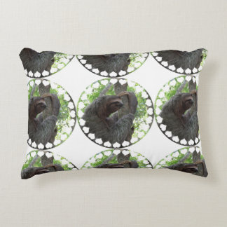 Tree Climbing Sloth Accent Pillow