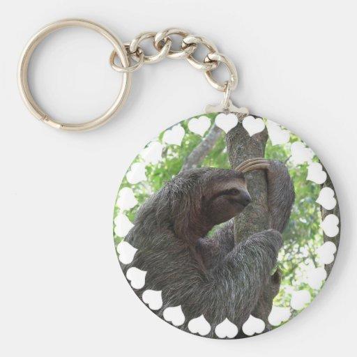 Tree Climbing Sloth Keychain