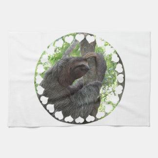 Tree Climbing Sloth Kitchen Towel