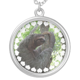 Tree Climbing Sloth Necklace