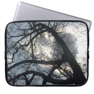 Tree Cloud Computer Sleeve
