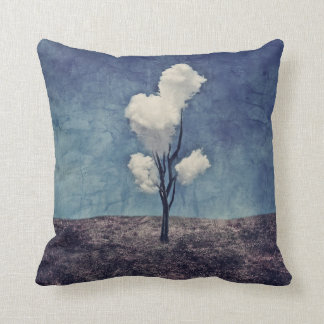 Tree Clouds - Surreal Art Pillows