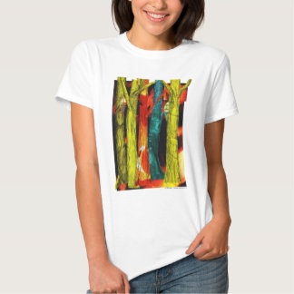 Tree Collage Baby Doll Tee