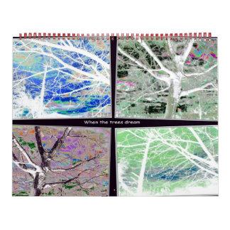 Tree Collage Calendars