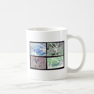Tree collage coffee mug
