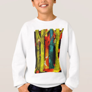 Tree Collage Sweatshirt