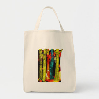 Tree Collage Tote Bag