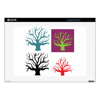 """Tree concept four shapes skins for 15"""" laptops"""