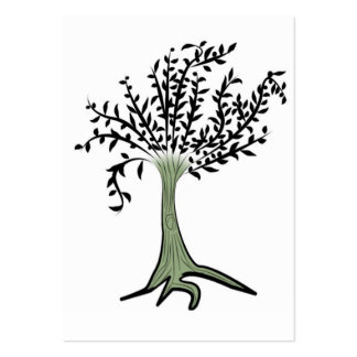 tree copy large business cards (Pack of 100)