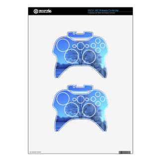 Tree covered in snow on barren landscape. xbox 360 controller decal