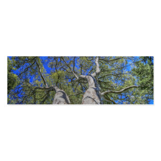 Tree Crown Double-Sided Mini Business Cards (Pack Of 20)