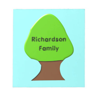 Tree Customizable Genealogy Notepad