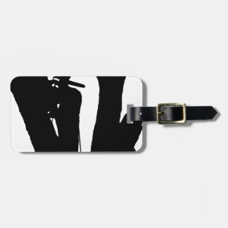 Tree Cutter Luggage Tag