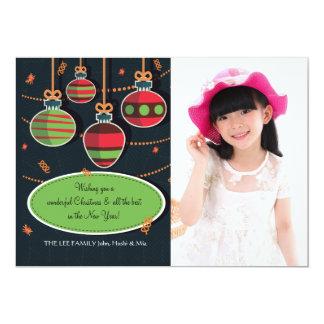 Tree Decorations Photo Holiday Card