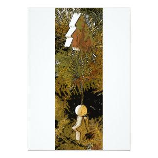 Tree Decs long lines 13 Cm X 18 Cm Invitation Card