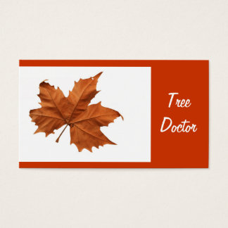 Tree Doctor Business Card
