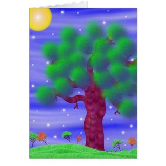 Tree Doodle Card