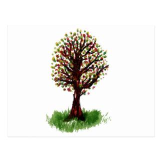 Tree Doodle Postcard