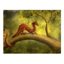 Tree Dragon Postcard