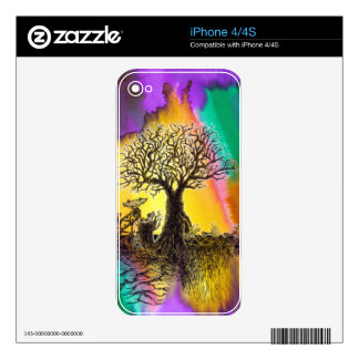 Tree Factory. iPhone 4 Decal