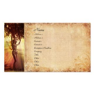 Tree Fairy Business Card Templates