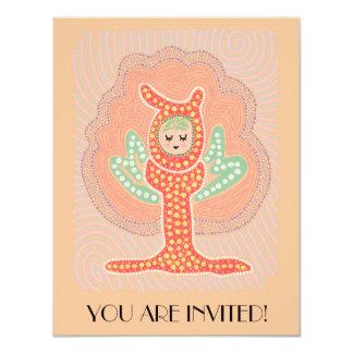 Tree Fairy Dreamland Dot Painting Card