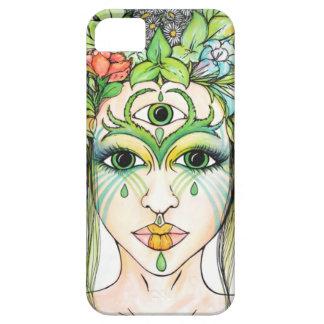 Tree Fairy - Psychedelic Portrait iPhone SE/5/5s Case