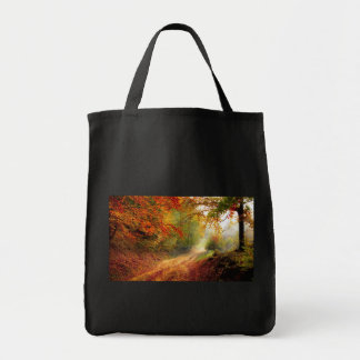 Tree Fall Nature Landscapes Sky Destiny Destiny'S Tote Bag