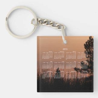 Tree Family; 2013 Calendar Keychain