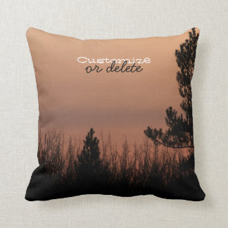 Tree Family Throw Pillow
