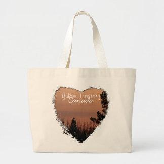 Tree Family; Yukon Territory Souvenir Bag